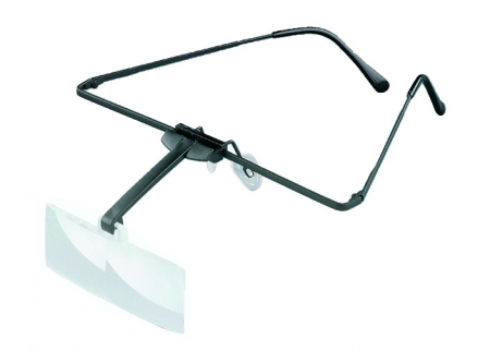 Eschenbach labo-med attachment magnifier for non-spectacle wearers