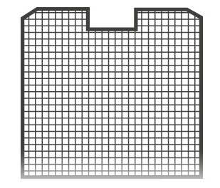 Flexio-depositors basic basket 1 15x15
