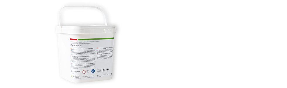 IRA salt, 5kg bucket, special salt for water softening