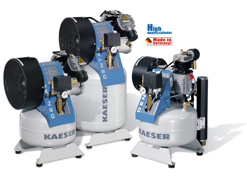 Kaeser Dental-Kompressor 3T mit Trockenluft