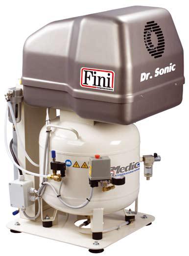 Dr. Sonic 320-50V-ES-3M mit Trockenluftanlage