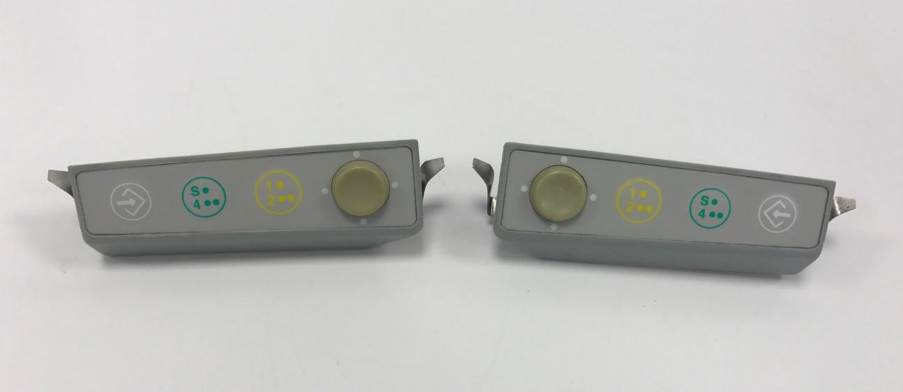 Ritter Schalterleiste, vollständig, rechts + links