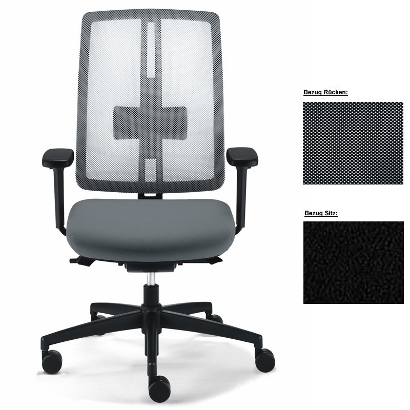 "Dauphin office chair ""dat-o mesh"""