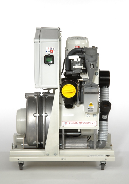 Cattani Turbo HP quattro 2V including amalgam separator